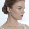 Steven Khalil Chloe Yellow Gold Stud Earrings