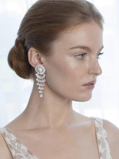 Steven Khalil Nouveau Chandelier Earrings