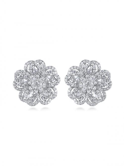 Steven Khalil Botanica Cluster Earrings